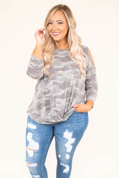 I Will Survive Top, Gray