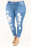 Best Day Skinny Jeans, Medium Wash