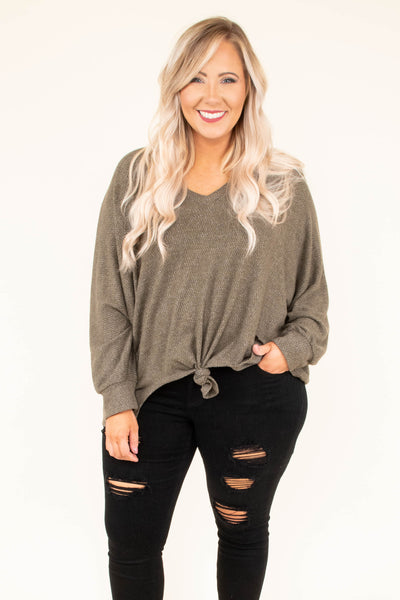 Unlimited Love Top, Olive