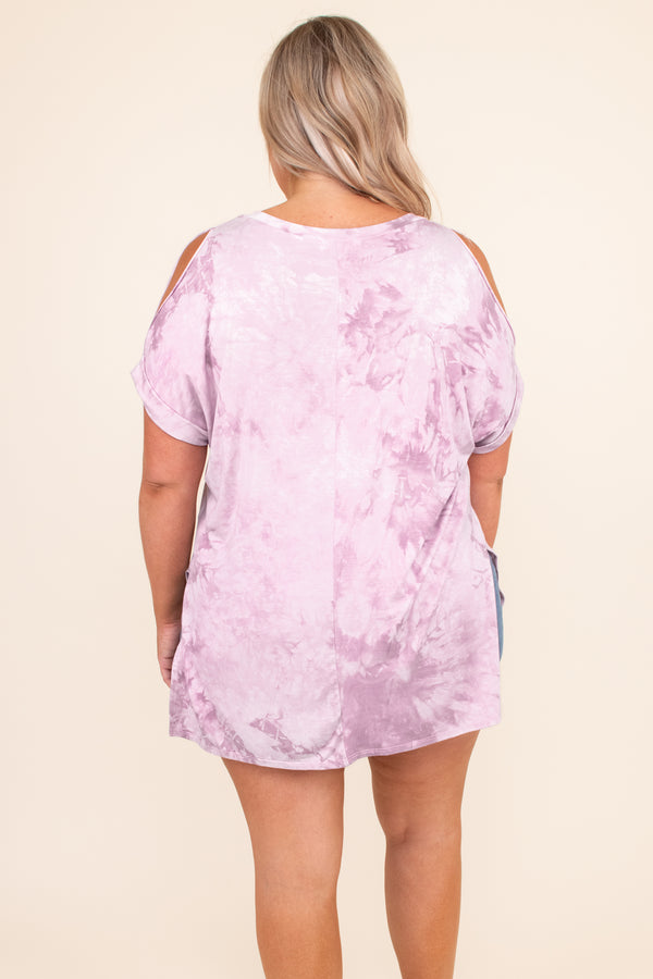Usual Way Top, Lilac
