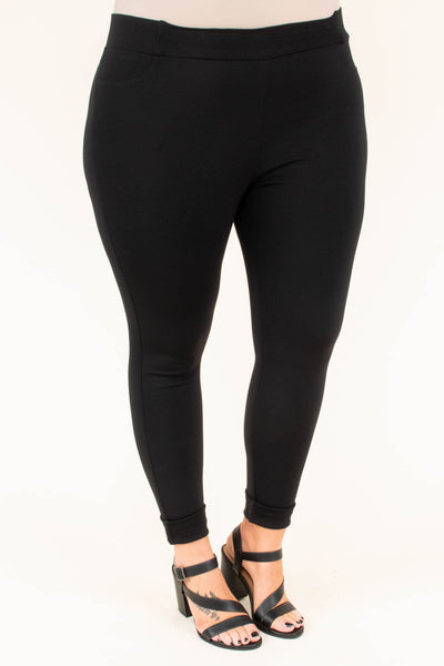 Beyond Basic Pants, Black