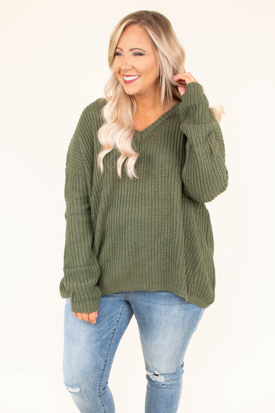 By Far The Best Sweater, Olive