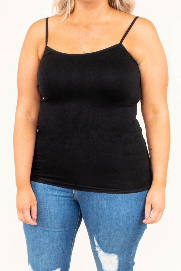 The Necessities Tank, Black