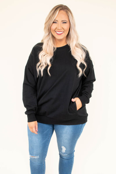Don't Sweat It Top, Black