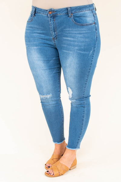Embrace The Stars Skinny Jeans, Medium Wash