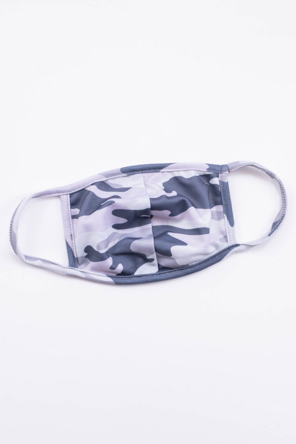 face mask, mask, covid, camo, grey, comfy