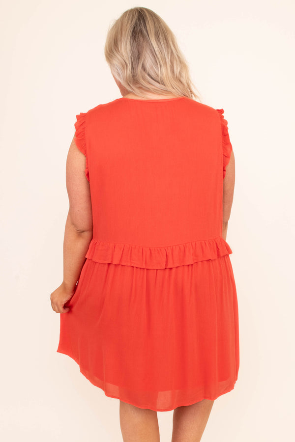 See The Other Side Dress, Orange