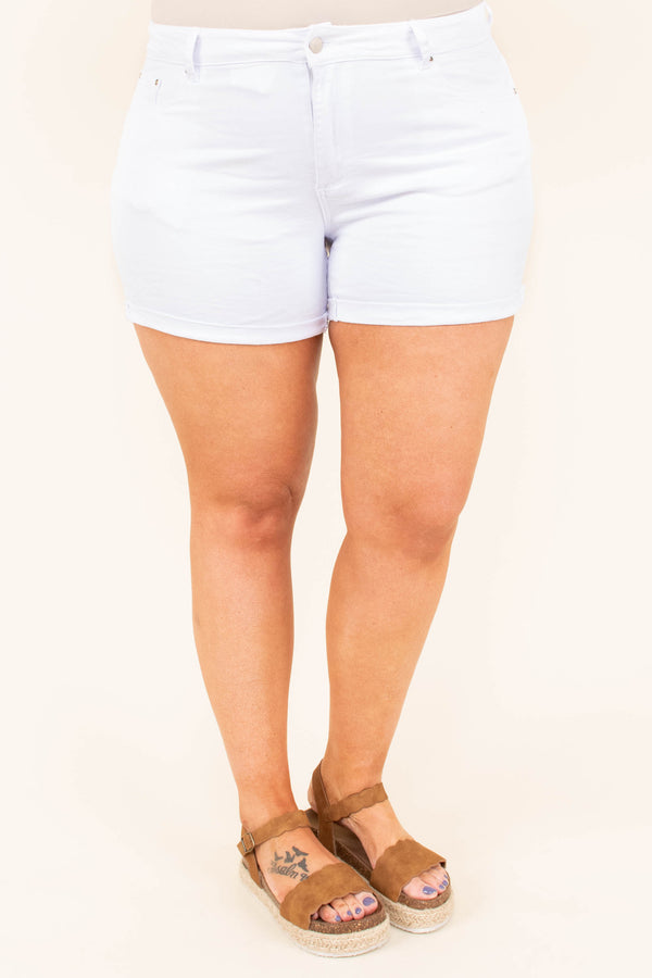 Out To Sea Shorts, White