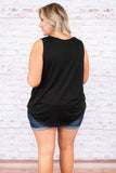 Like A Champ Top, Black