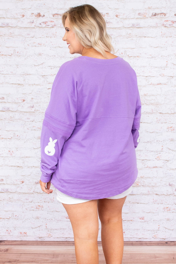 Easter Everyday Top, Lilac