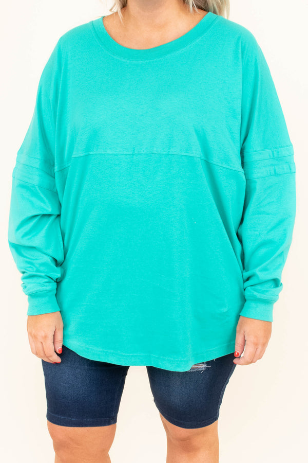 Easter Everyday Top, Teal