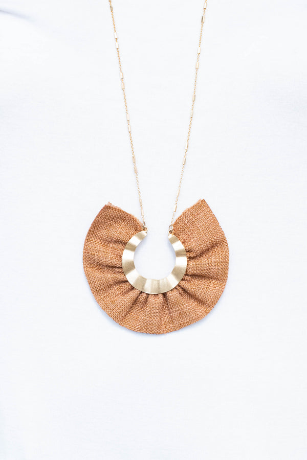 Fun To Flaunt Necklace, Brown