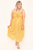 Don't Steal My Sunshine Maxi Dress, Yellow