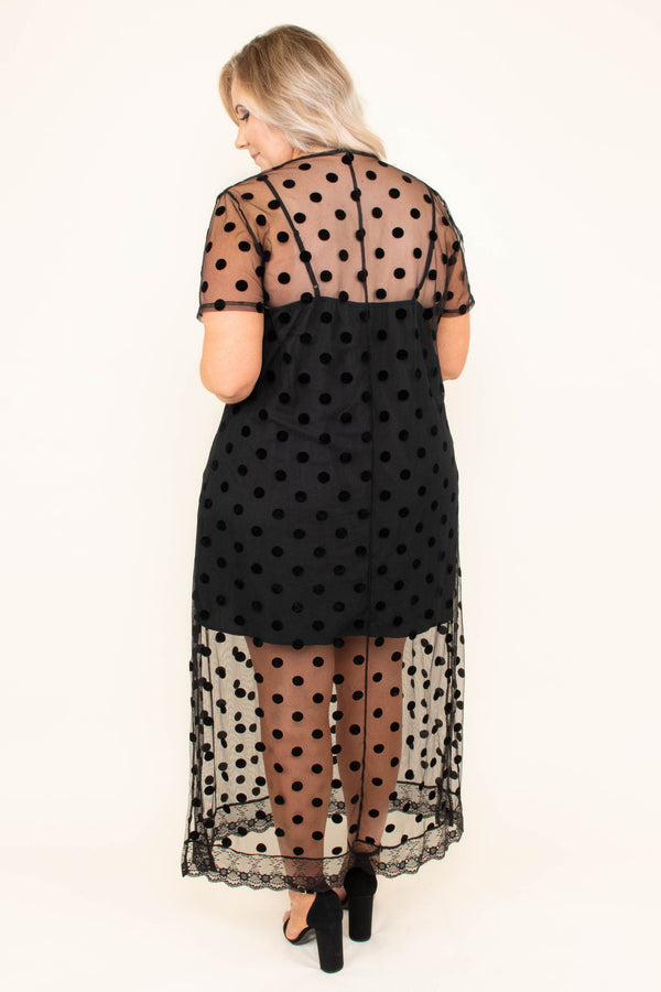 The Magic Touch Dress, Black