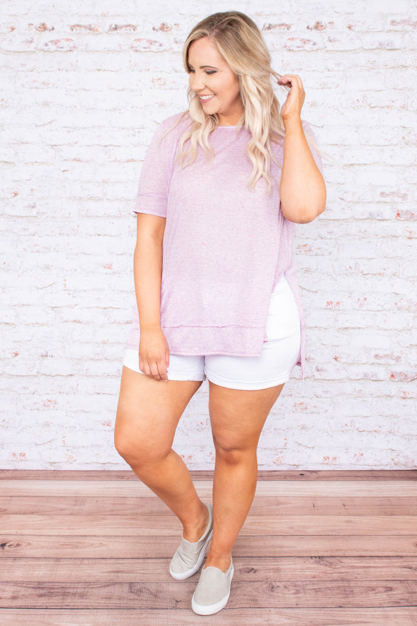 Be My Escape Top, Lavender