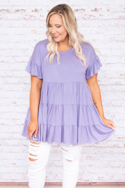 Love and Honey Tunic, Lavender
