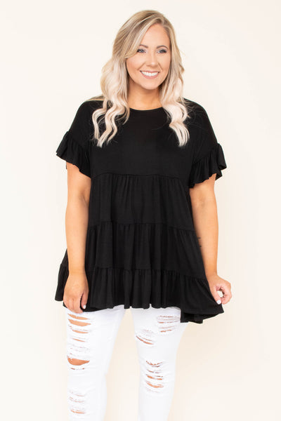 Love and Honey Tunic, Black