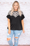 Forever Fashionable Top, Black