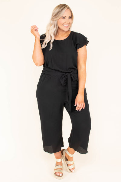 A Time For Everything Jumpsuit, Black