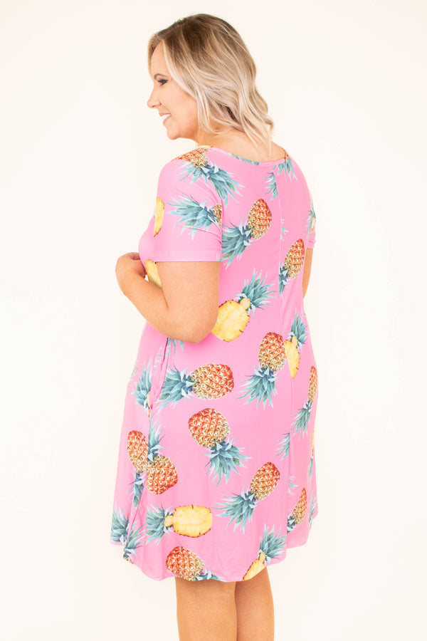 Had Me At Aloha Dress, Pink