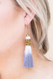 Regan Allison Designs: Ancient Ruins Earrings, Ivory-Gray