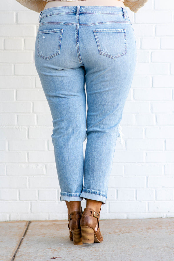 Each New Day Skinny Jeans, Light Wash