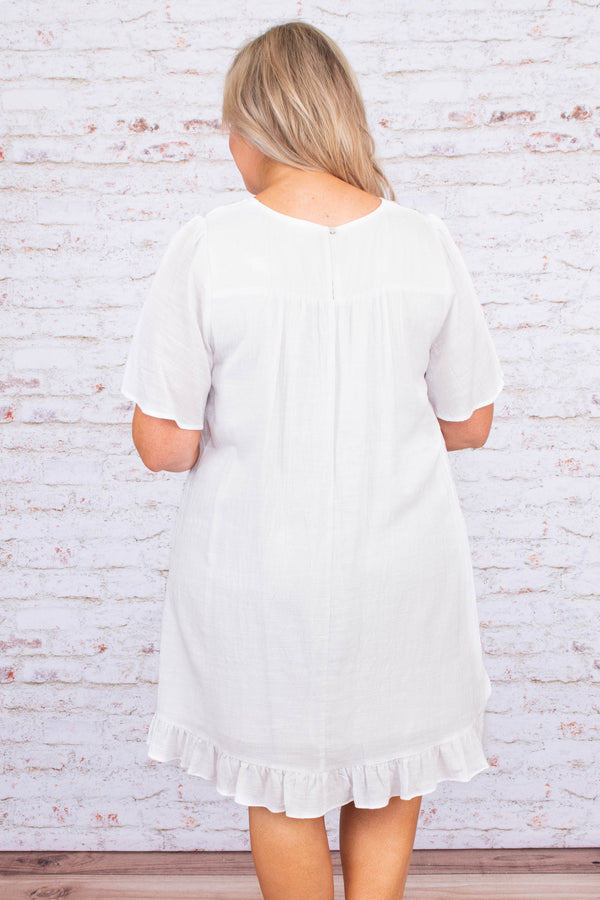 Wonder In Your Heart Dress, Ivory