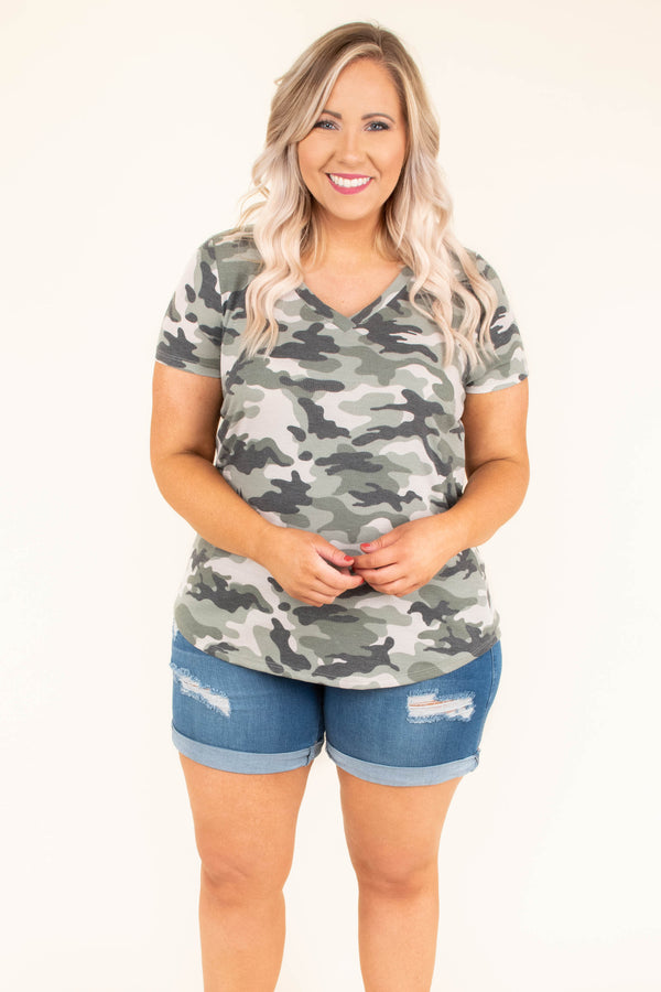 Loving Everyday Top, Olive