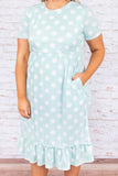 Leave Nothing To Chance Dress, Mint