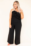 Dancing Machine Jumpsuit, Black