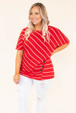 Sweetest Devotion Top, Red