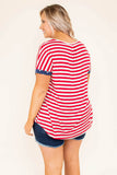 Old Glory Top, Red