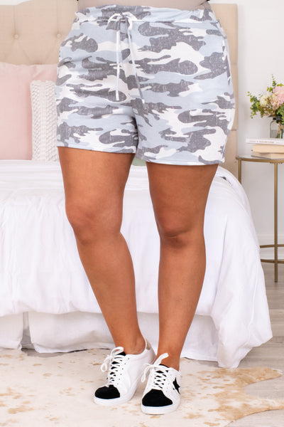 Right On Target Lounge Shorts, Off White