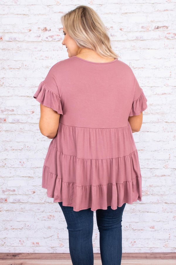 Love And Honey Tunic, Mauve