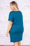 One More Day With You Dress, Teal