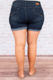 Taming Your Heart Shorts, Navy