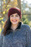 Warming Trend Headband, Burgundy