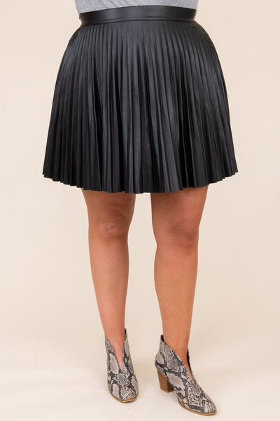 bottoms, skirt, black, solid, glatter, holiday, Christmas, New Years