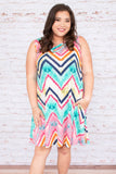 For The Twirl Of It Dress, Multi