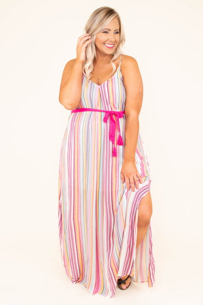 Might As Well Dance Maxi Dress, Multi