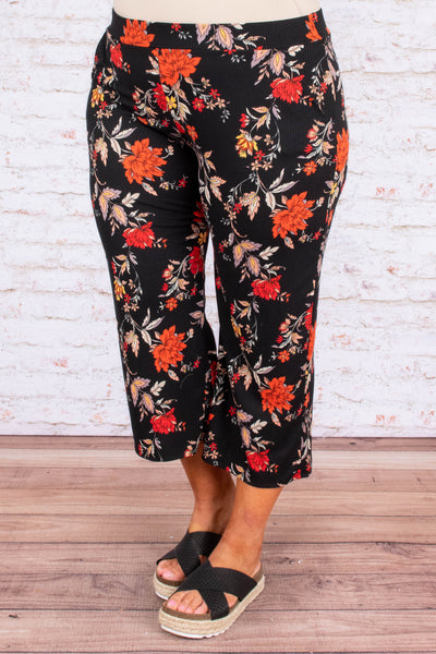In the Tropics Pants, Black