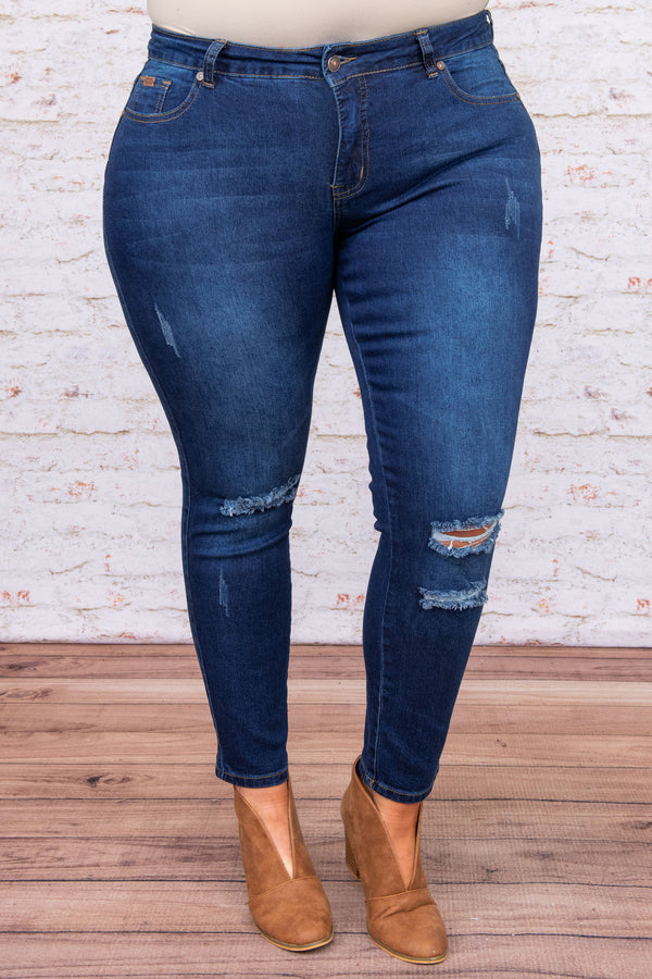 bottoms, jeggings, blue, distressed, ripped