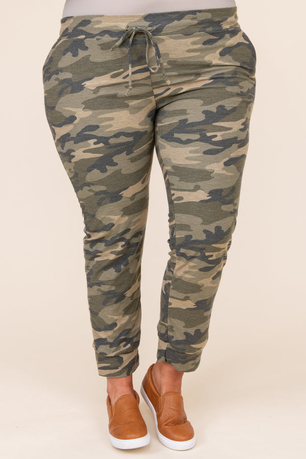 bottoms, joggers, green, camoflauge, lounge, comfy, casual, warm