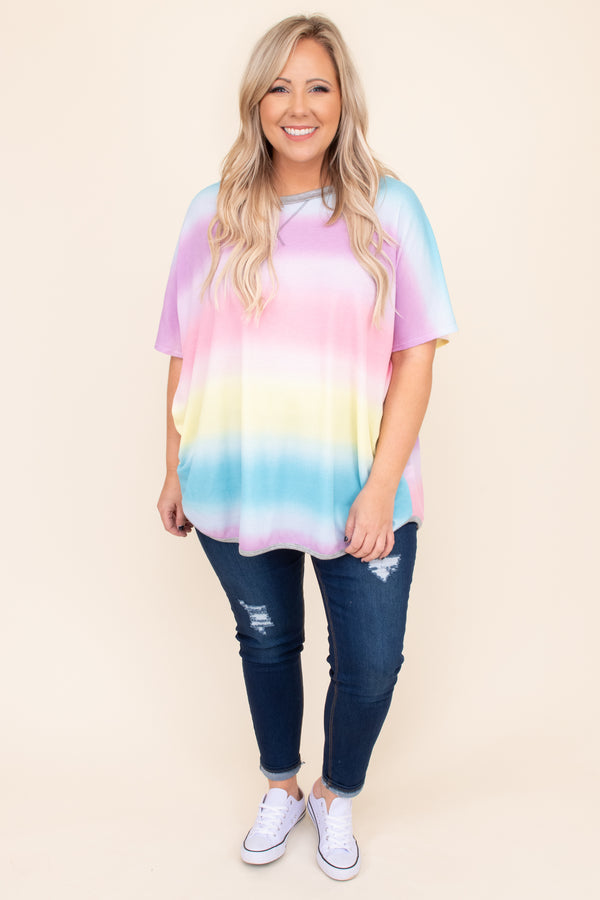 Golden Girls Top, Rainbow