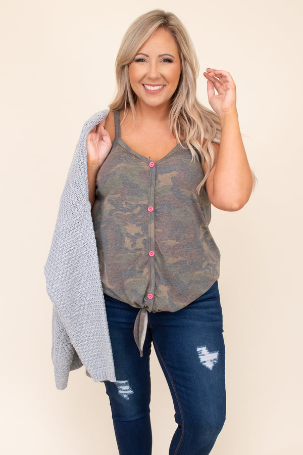 Can't Give Up Tank, Army Green