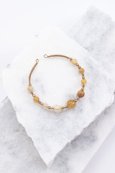 Golden Hour Bracelet, Natural