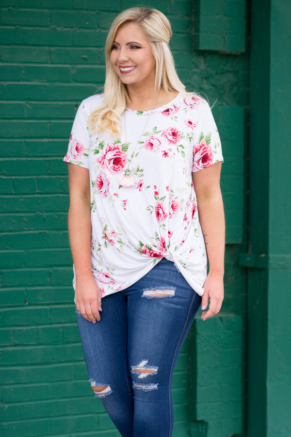 Big Dreams Top, Ivory