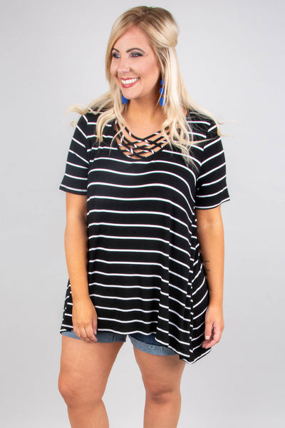Let's Chat Top, Black-Ivory