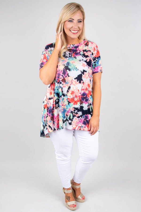 Something Between Us Top, Navy