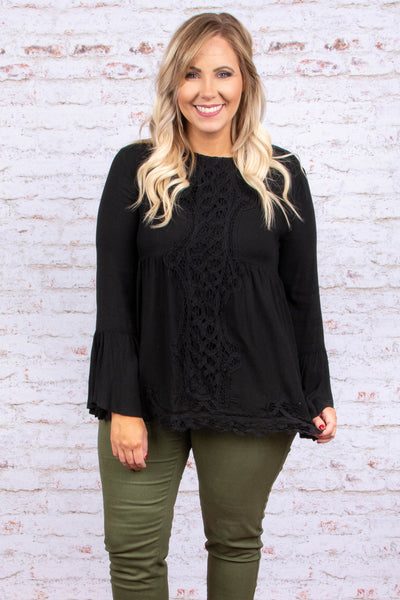 That Lovin' Feeling Top, Black